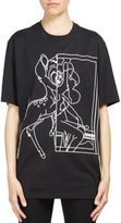 Givenchy Bambi Outline Printed Cotton Tee