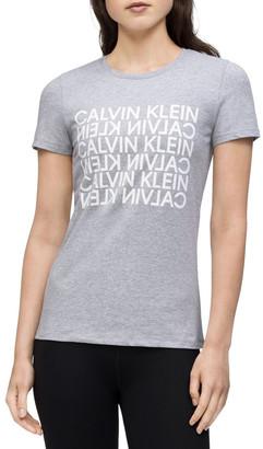 Calvin Klein Reverse Calvin Graphic Short Sleeve Tee