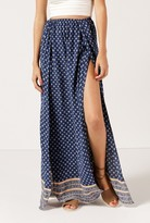 Azalea Isadora Printed Maxi Skirt
