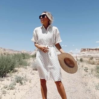 Summersalt The Do-It-All Shirtdress - Damsel Dot