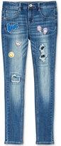 Vanilla Star Patch Skinny Jeans, Big Girls (7-16)