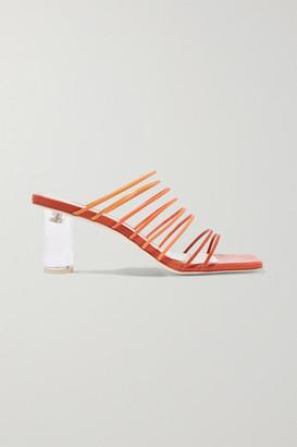 REJINA PYO Zoe Ombre Leather Sandals - Orange