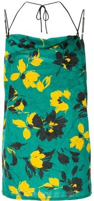 Maison Mihara Yasuhiro Floral Print Top