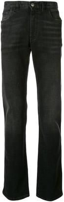 Brioni High Rise Straight Leg Jeans