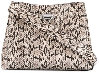 Salar Snakeskin-Effect Tote Bag