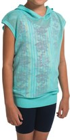 Gracie by Soybu Lindsey Hoodie Shirt - Sleeveless (For Little and Big Girls)