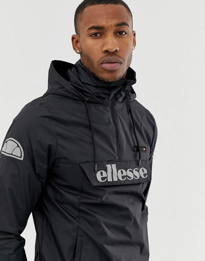 69950a56 Ion overhead jacket with reflective logo in black