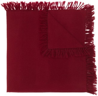 Isabel Marant Zila fringed knitted scarf