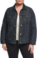 MICHAEL Michael Kors Denim Jacket, Indigo, Plus Size
