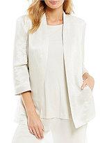Eileen Fisher 3/4 Sleeve Long Jacket