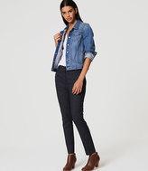 LOFT Pindot Essential Ankle Pants in Marisa Fit