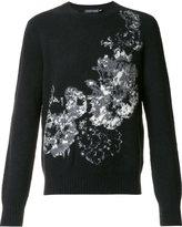 Alexander McQueen intarsia jumper