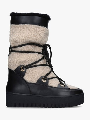 Carvela Tekky Snow Boots, Black