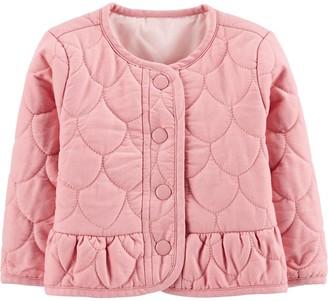 Osh Kosh Baby Girl Peplum Hem Jacket