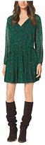 Michael Kors Printed Crepe Dress