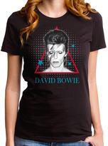 Goodie Two Sleeves Black David Bowie Aladdin Pyramid Tee - Women