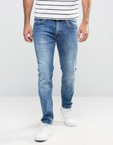 Wrangler Skinny Low Rise Jean in In the Zone Wash