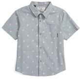 Billabong Toddler Boy's Marker Woven Shirt
