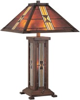 Lite Source Inc. Farah Stained-Glass Table Lamp