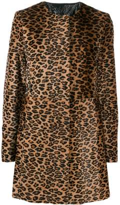 Drome leopard print coat