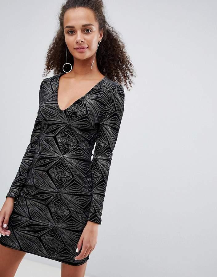 427f957cbf2 Metallic Glitter Dress - ShopStyle UK