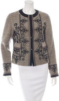 Etro Embroidered Button-Up Jacket