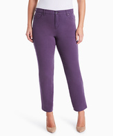 Gloria Vanderbilt Purple Amanda Jeans - Plus