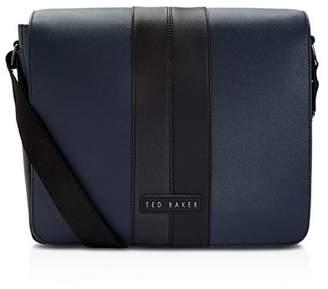 Ted Baker Retzina Twill Pu Messenger Bag