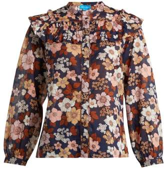 MiH Jeans Hayden Floral-print Cotton Blouse - Womens - Multi