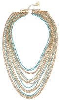 GUESS Multi Strand Mixed Chain Necklace Necklace