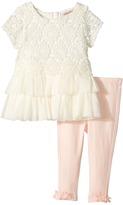 Nanette Lepore Kids - Crochet Lace Tunic Set Girl's Active Sets