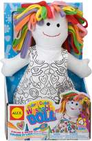 Alex Color a Bag! & Accessories Color And Cuddle Doll 69WD
