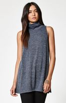 La Hearts Slouchy Neck Tunic Tank Top