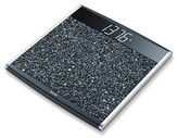 Beurer Digital Scale with Pebble Platform - Black