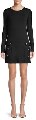 Bailey 44 Long-Sleeve Mini Dress