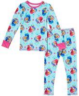 Cuddl Duds Toddler Girl Shimmer & Shine Top & Leggings Set