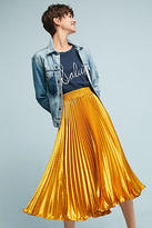 Anthropologie Gemma Pleated Skirt
