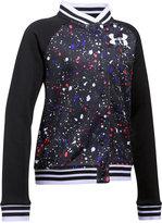 Under Armour Paint Splatter Varsity Jacket, Big Girls (7-16)