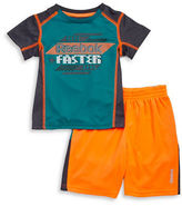 Reebok Boys 2-7 Athletic Tee and Shorts Set