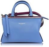 Emilio Pucci Sky Blue Leather Signature Top Handle Habdbag