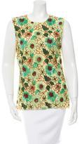Dolce & Gabbana Embellished Mesh Top