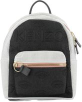 Kenzo White Leather Backpack