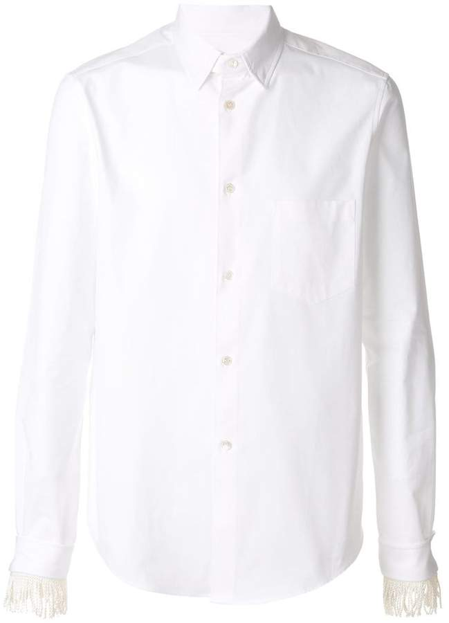 Golden Goose tassel cuff shirt
