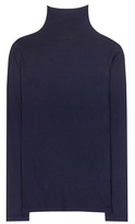Velvet Talisia cotton-blend turtleneck top