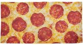 Old Glory Pepperoni Pizza All Over Beach Towel