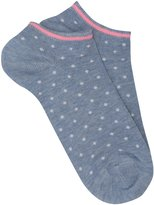 M&Co Spot trainer socks