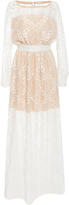 Alexis Mabille Long Sleeve Lace Dress