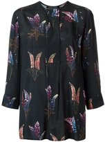 Andrea Marques - all-over print blouse - women - Viscose - 36