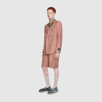 Gucci Check wool Bermuda shorts