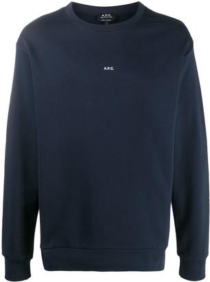 A.P.C. Mini Logo Sweatshirt